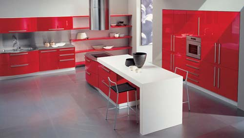 Kitchen style and-design. Furniture The furniture in Italian cuisine